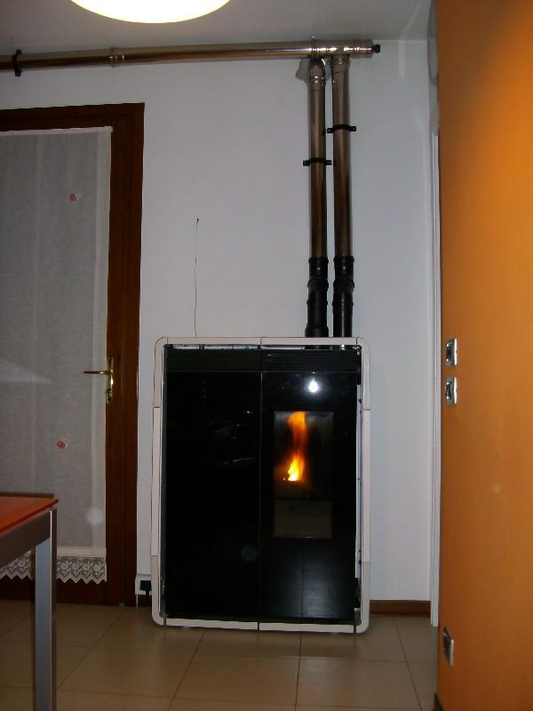 Deltafuoco di venica mauro spolerts caminetti termocaminetti cucine in muratura cucine e - Istallazione stufa a pellet ...