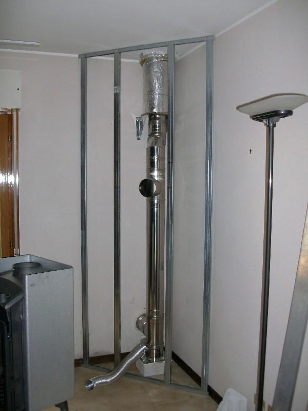 Deltafuoco di venica mauro spolerts caminetti termocaminetti cucine in muratura cucine e - Tubi scarico fumi stufe a pellet ...